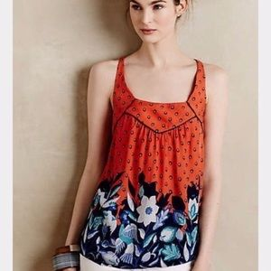 {Anthropologie} Mazie Tank size XS